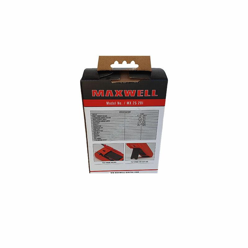 MAXWELL 25201 Digitális multiméter hőmérséklet méréssel3