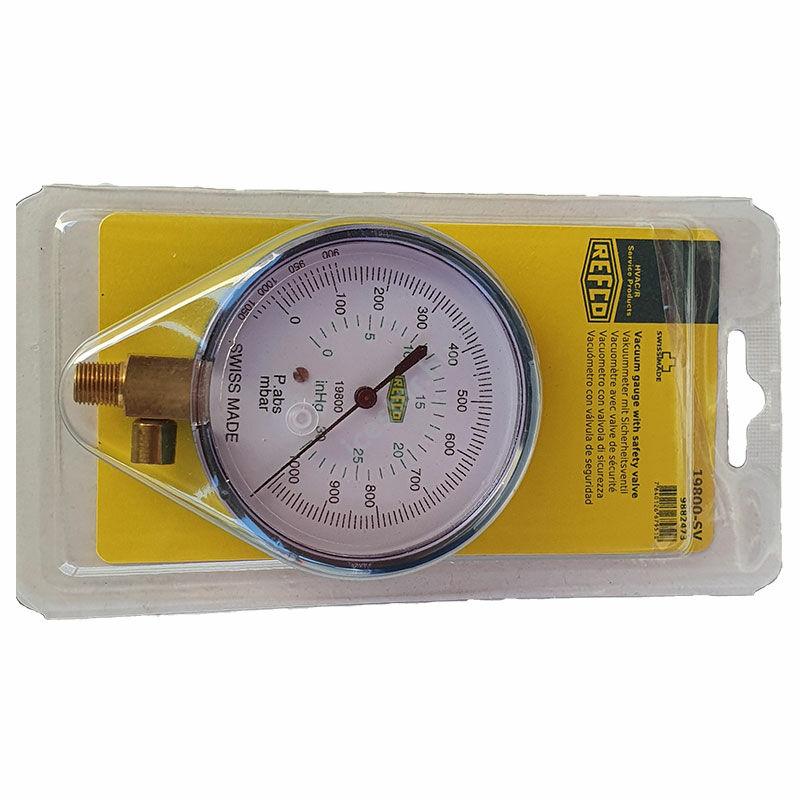 REFCO Vákuummérő óra 19800-SV 80 mm
