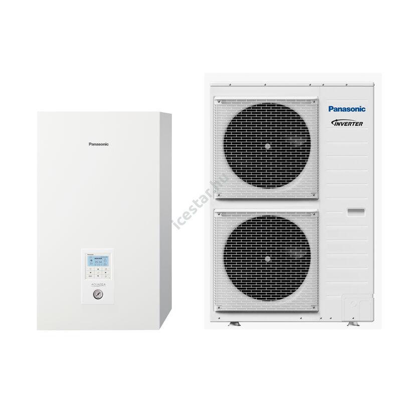 Panasonic Aquarea T-CAP H generációs split egyfázisú hőszivattyú 9 kW - SXC (KIT-WXC09H3E8)