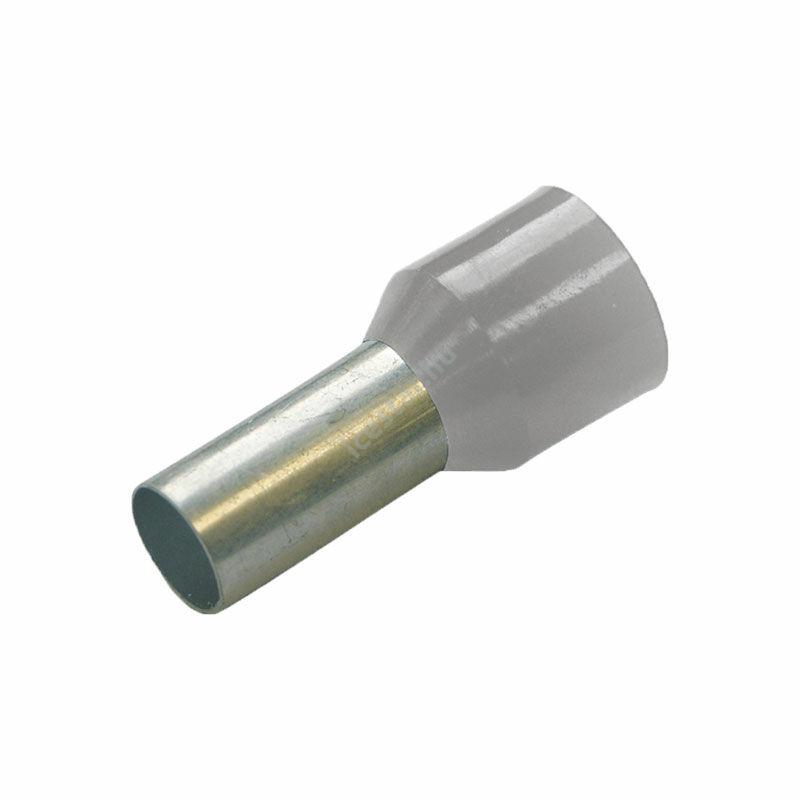 HAUPA Szigetelt érvéghüvely 4mm x 10mm 100 db