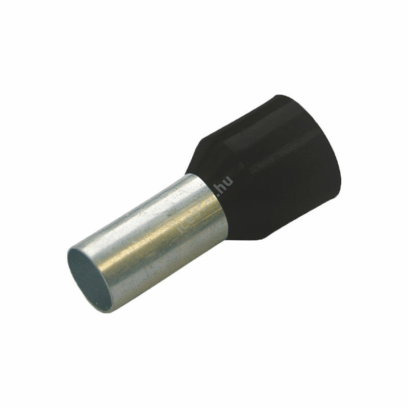 HAUPA Szigetelt érvéghüvely 6mm x 18mm 100 db