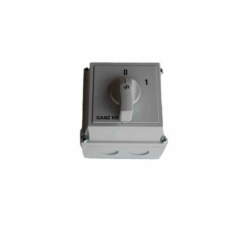 GANZ KKM-0-20-6002 Kapcsoló be-kI (0-1)