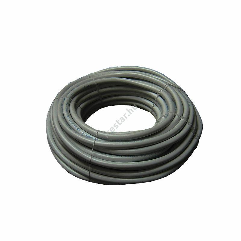 YSLCY-OZ 2x1 mm (2G1) szürke árnyékolt kábel 100 m1