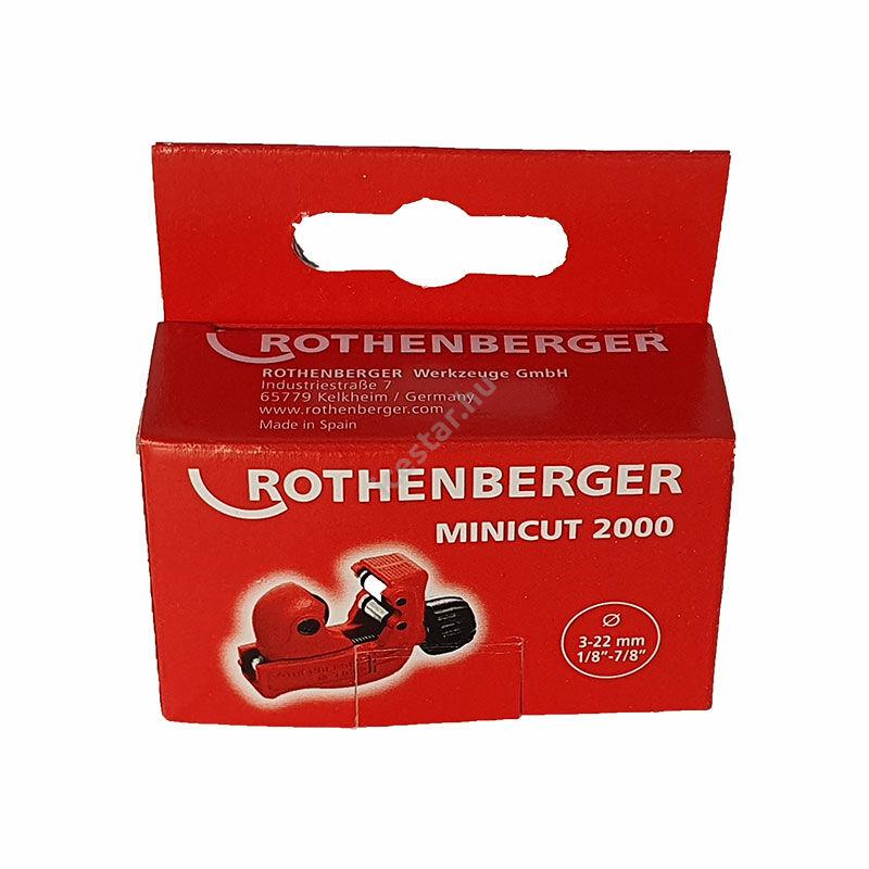 ROTHENBERGER Minicut 2000 Csővágó 3-22 mm3