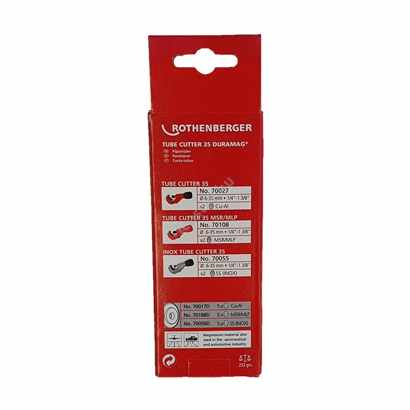 ROTHENBERGER Tube Cutter Csővágó 6-35 mm3