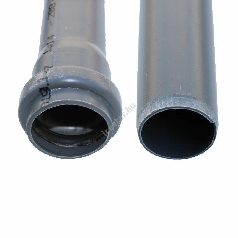 PIPELIFE PVC Tokos lefolyócső 63x1,8x2000mm