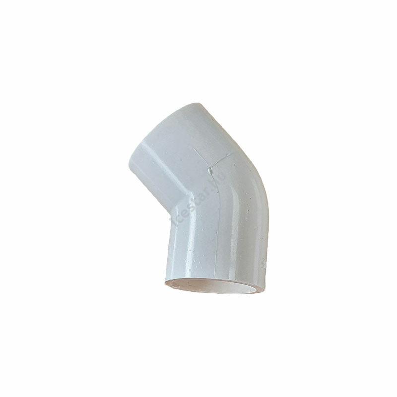 Kondenzvízcső könyök 20mm 45° RDP-E45 Fehér