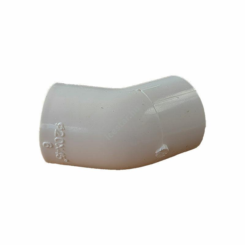 Kondenzvízcső 20mm/45 könyök RDP-E45 Fehér1
