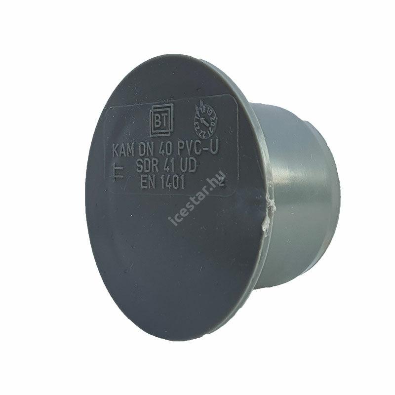 PVC Tokelzáró dugó 40 mm
