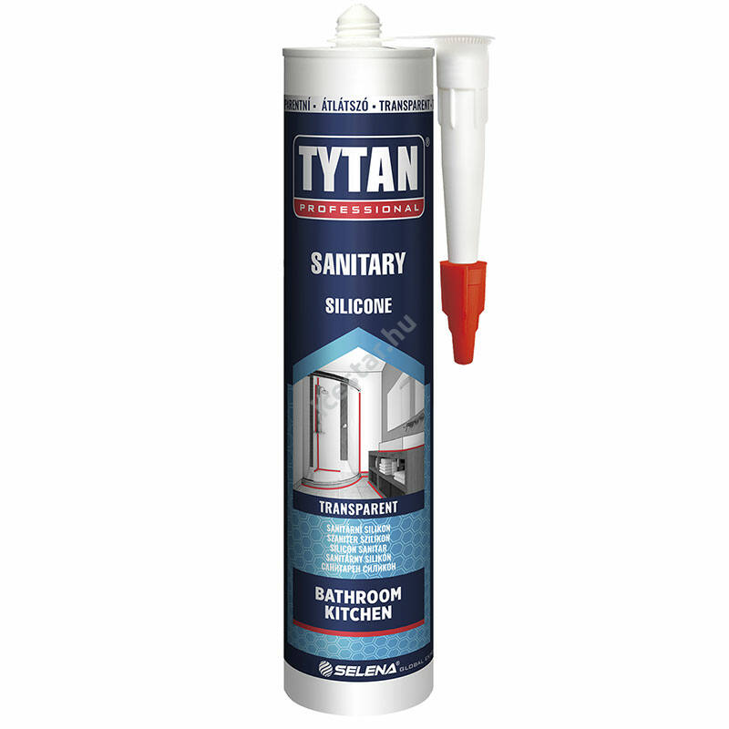 Tytan SZANITER SZILIKON tömítő - sziloplaszt -fehér 280ml