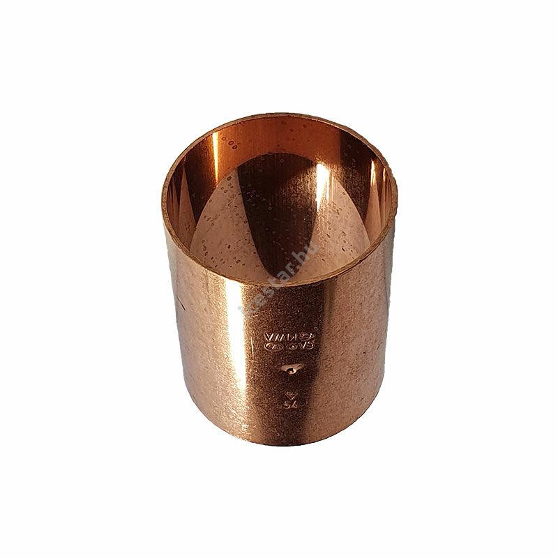 Rézcső idom egyenes karmantyú BB 54mm