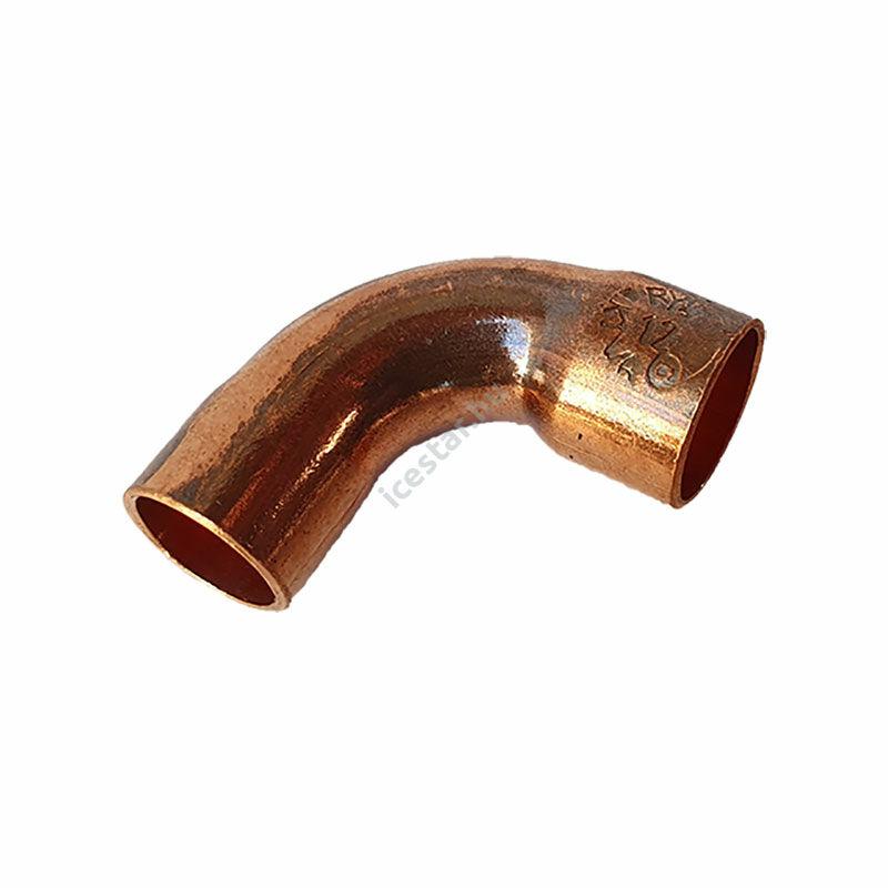 Rézcső idom ív BB 90° 12mm