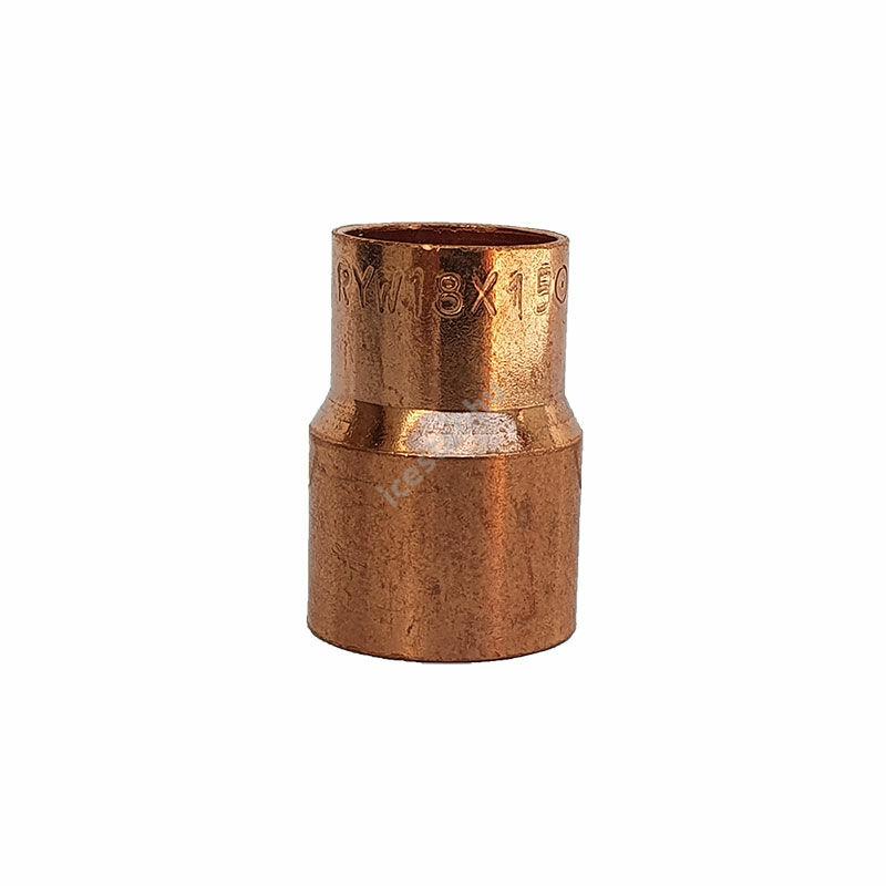 Rézcső idom szűkítő BB 18-15mm