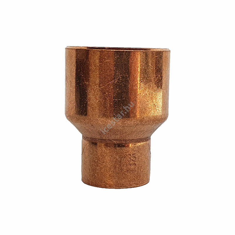 Rézcső idom szűkítő KB 35-22mm  1