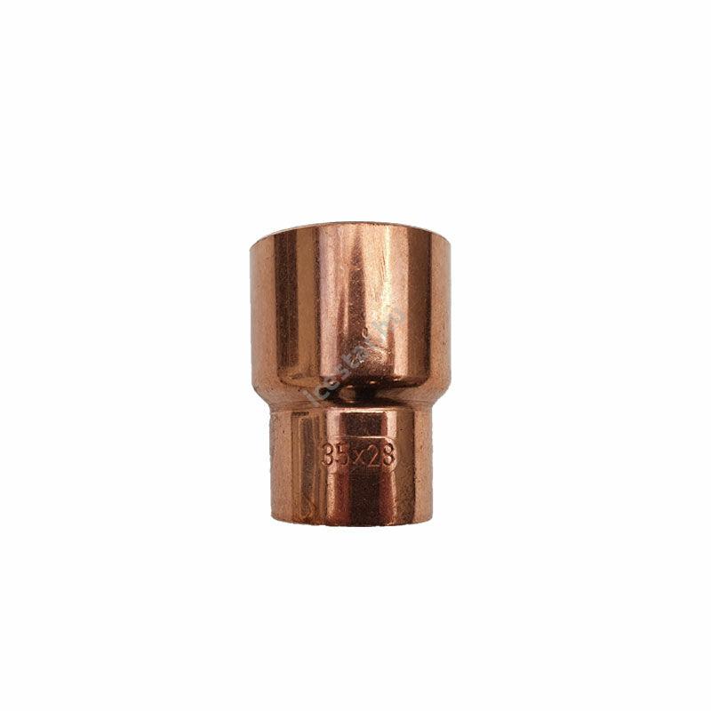 Rézcső idom szűkítő KB 35-28mm  1