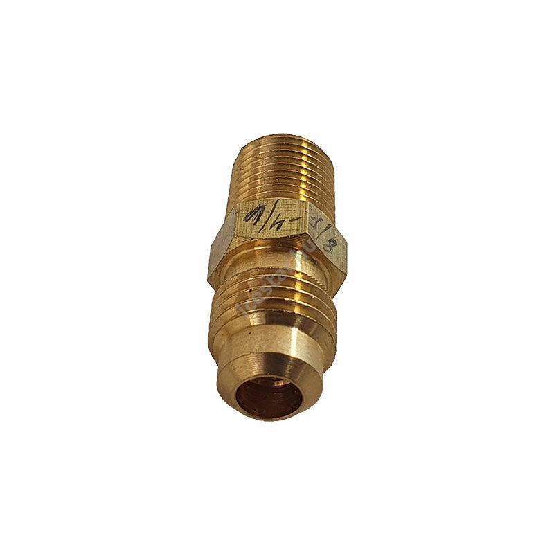 """CASTEL Egyenes Csatlakozó 6/3mm U1-4A KK (SAE1/4""""xNPT1/8 """")"""