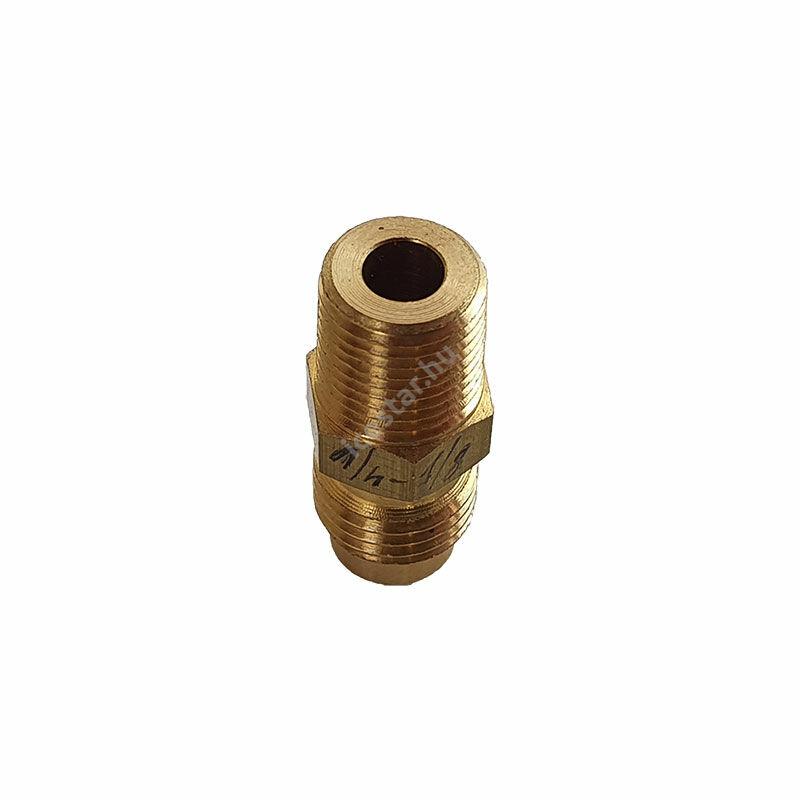 """CASTEL Egyenes Csatlakozó 6/3mm U1-4A KK (SAE1/4""""xNPT1/8 """")1"""