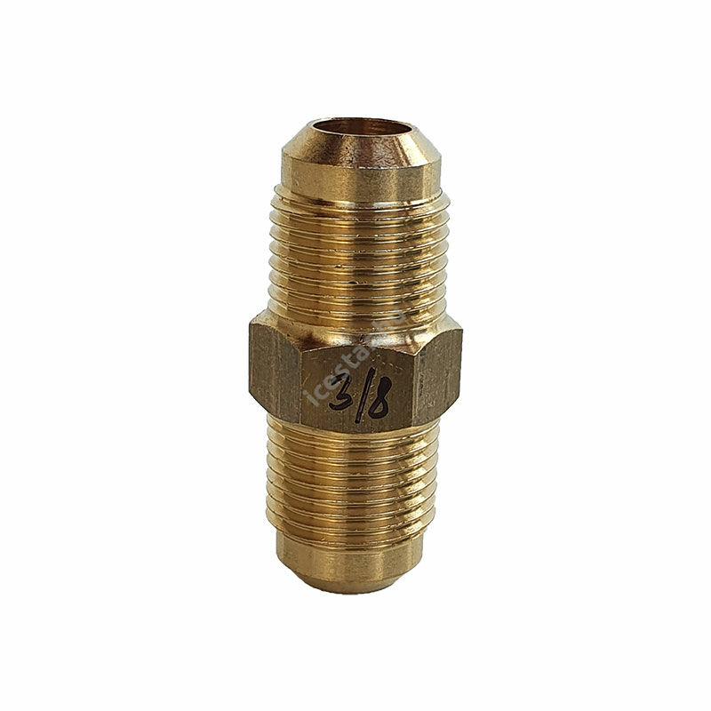 """CASTEL Egyenes Csatlakozó 10mm U2-6 KK (3/8""""x3/8"""") 1"""