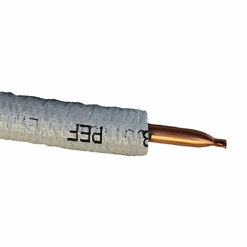 lágy vegytiszta szigetelt vörösréz cső 10x1mm (3/8)