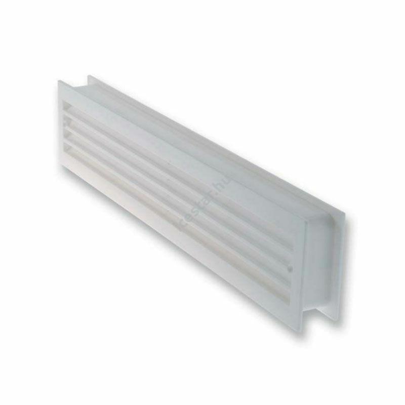 ATC 6145W műanyag ajtórács, szellőző rács fehér