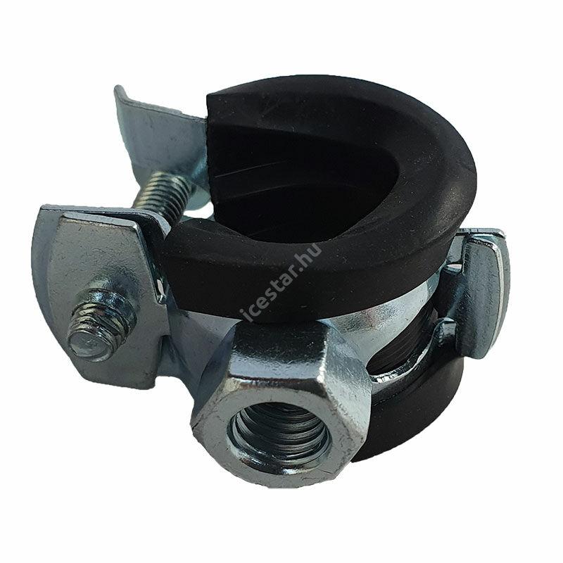 "Csőbilincs - gumis bilincs  12-16,0 mm M8 1/4"""